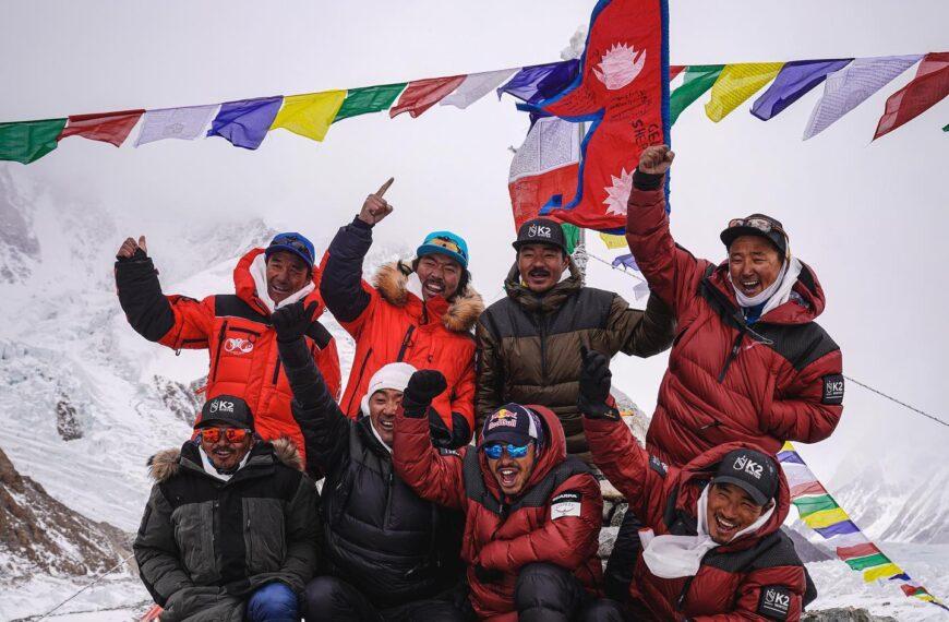 Szczyt K2 zdobyty zimą!