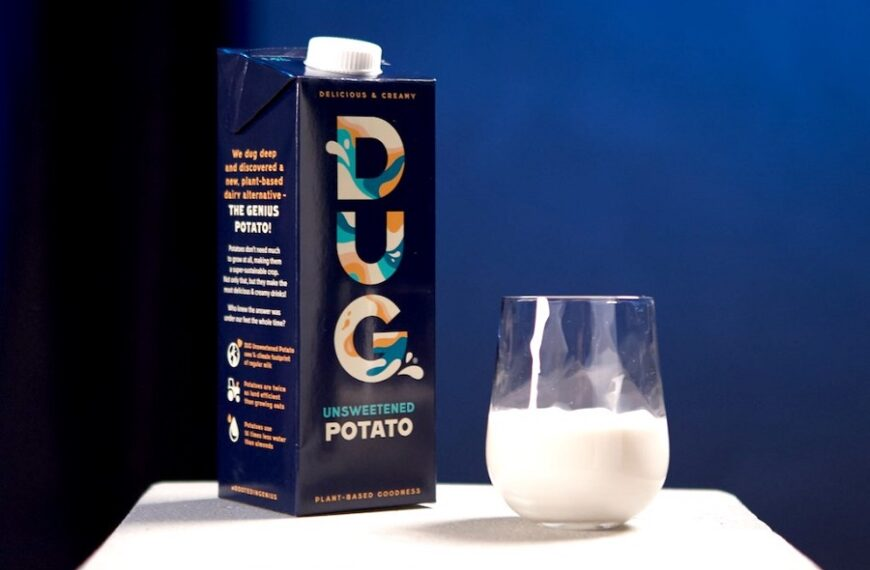 Wegańskie mleko z ziemniaka