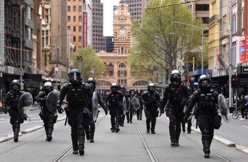 Wojna na ulicach Melbourne
